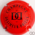 Champagne capsule A1.a Rouge