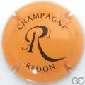 Champagne capsule 24.h Orange et noir