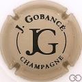 Champagne capsule 10.g Fond grège