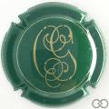 Champagne capsule 18 Vert et or