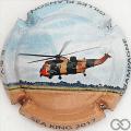 Champagne capsule 7.b Hélicoptère décollant