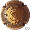 Champagne capsule  Estampée vieux bronze