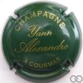 Champagne capsule 9 Vert et or