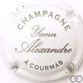 Champagne capsule 4 Blanc et argent