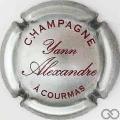 Champagne capsule 3 Argent et rouge