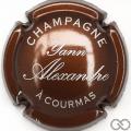 Champagne capsule 2 Marron et argent