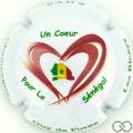 Champagne capsule 17.a Un cœur pour le Sénégal