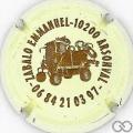Champagne capsule 5 Crème et marron