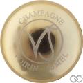 Champagne capsule 17 Parure or