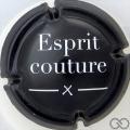 Champagne capsule 8 Esprit couture, verso noir