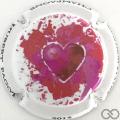 Champagne capsule 1.b Cœur rose