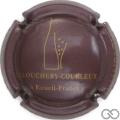 Champagne capsule 1.e Prune et or