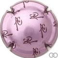 Champagne capsule 2.a Rosé-violacé et marron