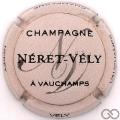 Champagne capsule 15 Rose pâle et noir