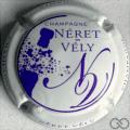 Champagne capsule 49.c Blanc mat et violet