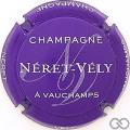Champagne capsule 15.c Violet et blanc