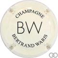Champagne capsule 1 Crème pâle et noir