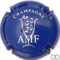 Champagne capsule 7 An 2000, bleu
