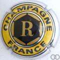 Champagne capsule 3 Quart, légende France