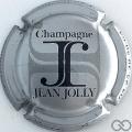 Champagne capsule 6 Gris-argenté et noir