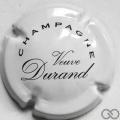 Champagne capsule 12 Blanc et noir