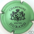 Champagne capsule 7 Vert pâle métallisé et noir