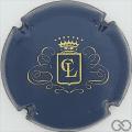 Champagne capsule 1 Bleu et or