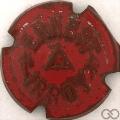 Champagne capsule 35.b Rouge métallisé
