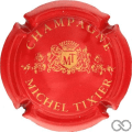 Champagne capsule 4 Rouge et or