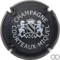 Champagne capsule 1.c Vert foncé et blanc
