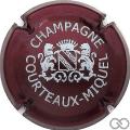 Champagne capsule 1.b Bordeaux et blanc