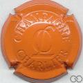 Champagne capsule 14 Estampée orange