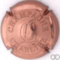 Champagne capsule 15 Estampée rosé