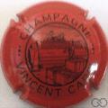 Champagne capsule 4 Rouge et noir