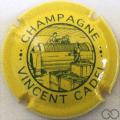 Champagne capsule 6 Jaune et vert