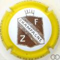 Champagne capsule 15 Contour jaune