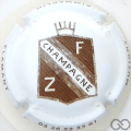 Champagne capsule 14 Fond blanc