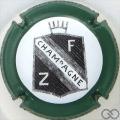 Champagne capsule 16 Contour vert