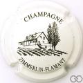 Champagne capsule 1 Blanc et noir