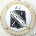 Champagne capsule 18 Contour crème