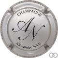 Champagne capsule 1 Argent et noir