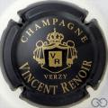 Champagne capsule 12 Noir et or