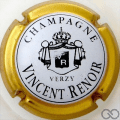 Champagne capsule 5 Contour or