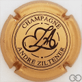 Champagne capsule 3 Or-bronze et noir