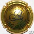Champagne capsule 2 Or-jaune et noir