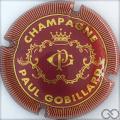 Champagne capsule 1 Bordeaux et or