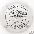 Champagne capsule 3 Blanc et noir