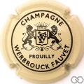 Champagne capsule 6 Crème et noir