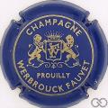 Champagne capsule 3 Bleu et or