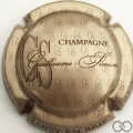 Champagne capsule  Grège et marron